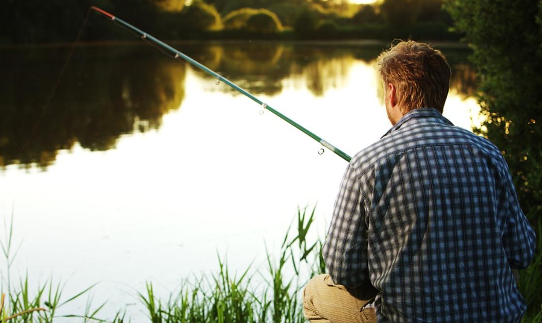 prut a rybář